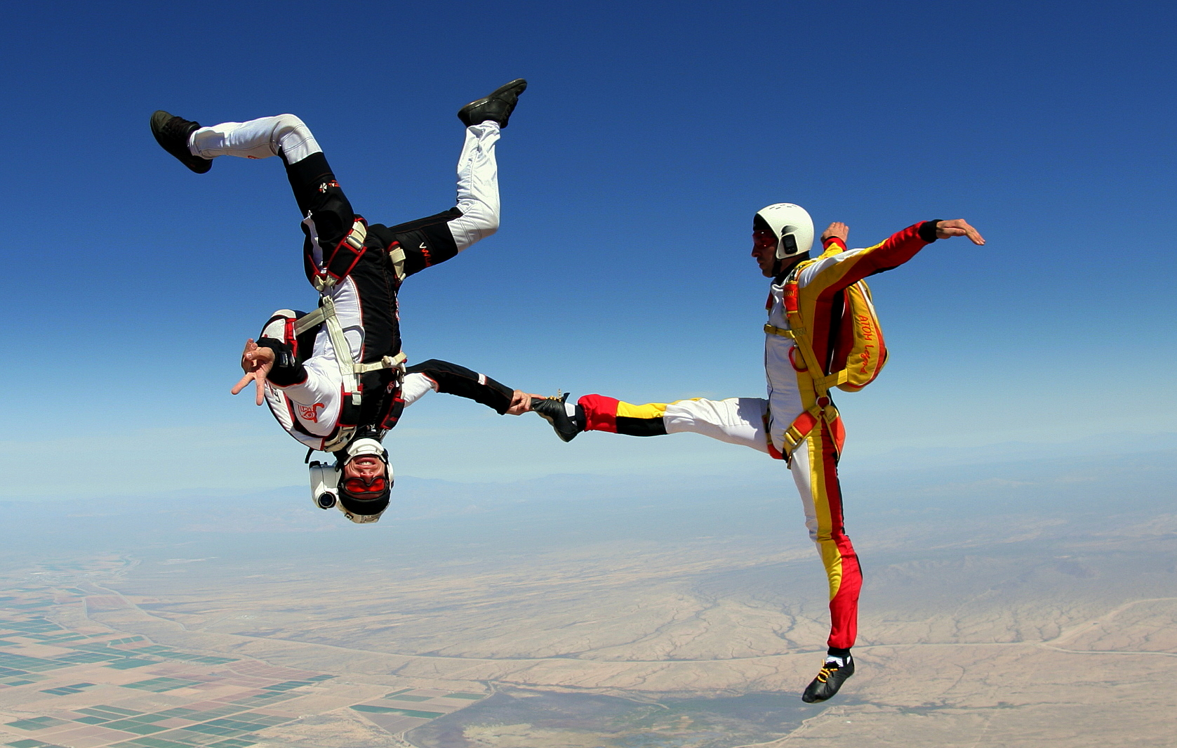 parachutisme figure