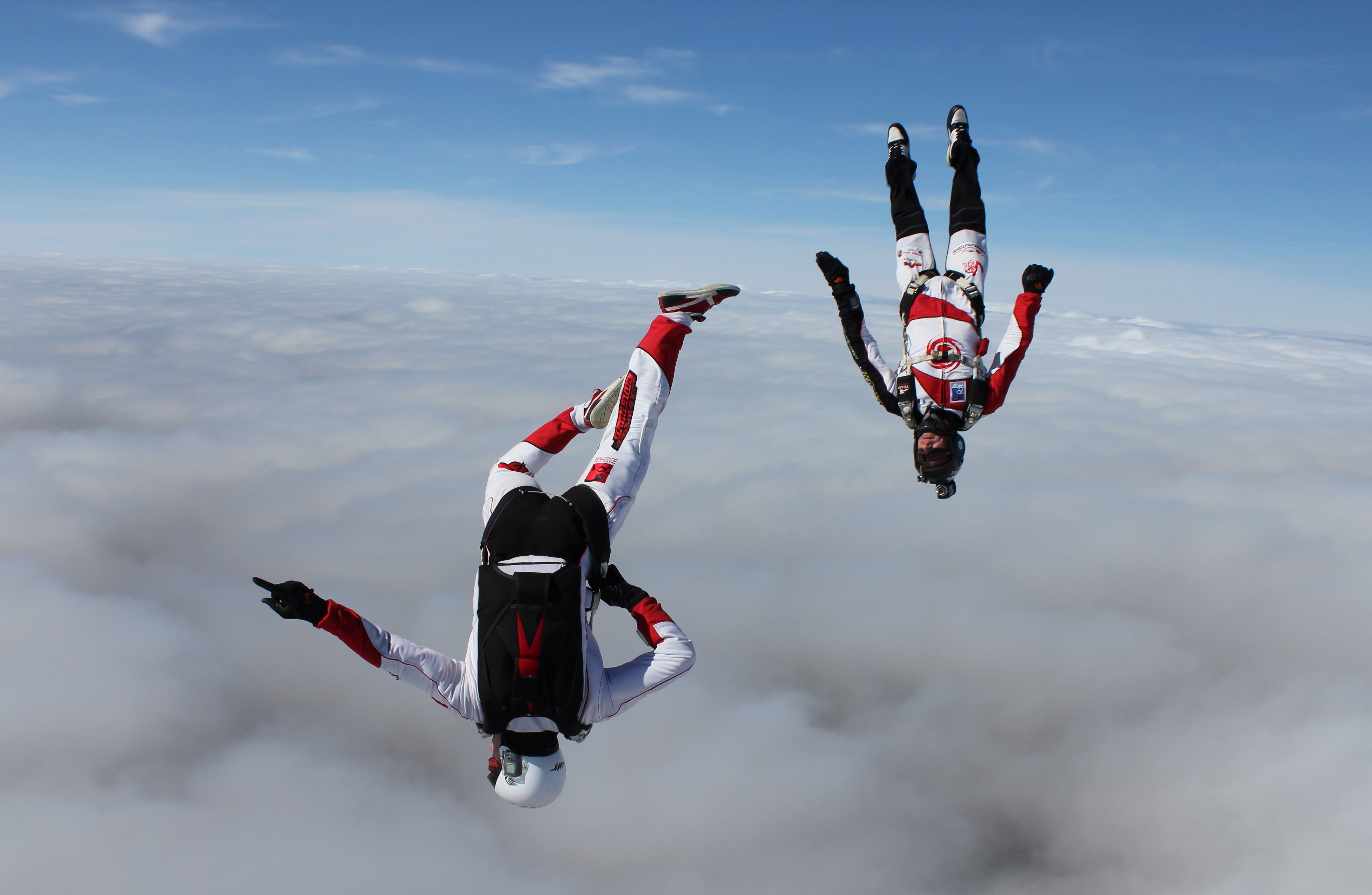 saut depuis espace