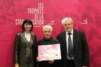 FFP - Remise des trophées de la communication MLBOZOM Bernard Martin Michel JOUINOT