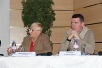 Marie-Claude Feydeau, Présidente de la FFP - David Roth, Président Délégué, Secrétaire Général