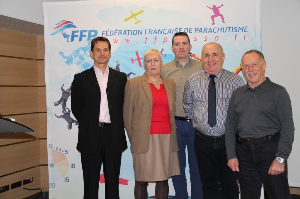 Les membres du Bureau et la DTN de la FFP, COLLOQUE 2014