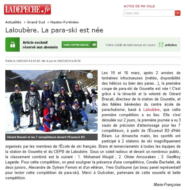 ladepeche.fr 24.03.2014