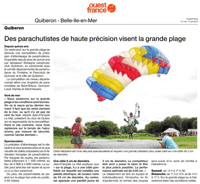 OuestFrance.fr - 31.05.2014
