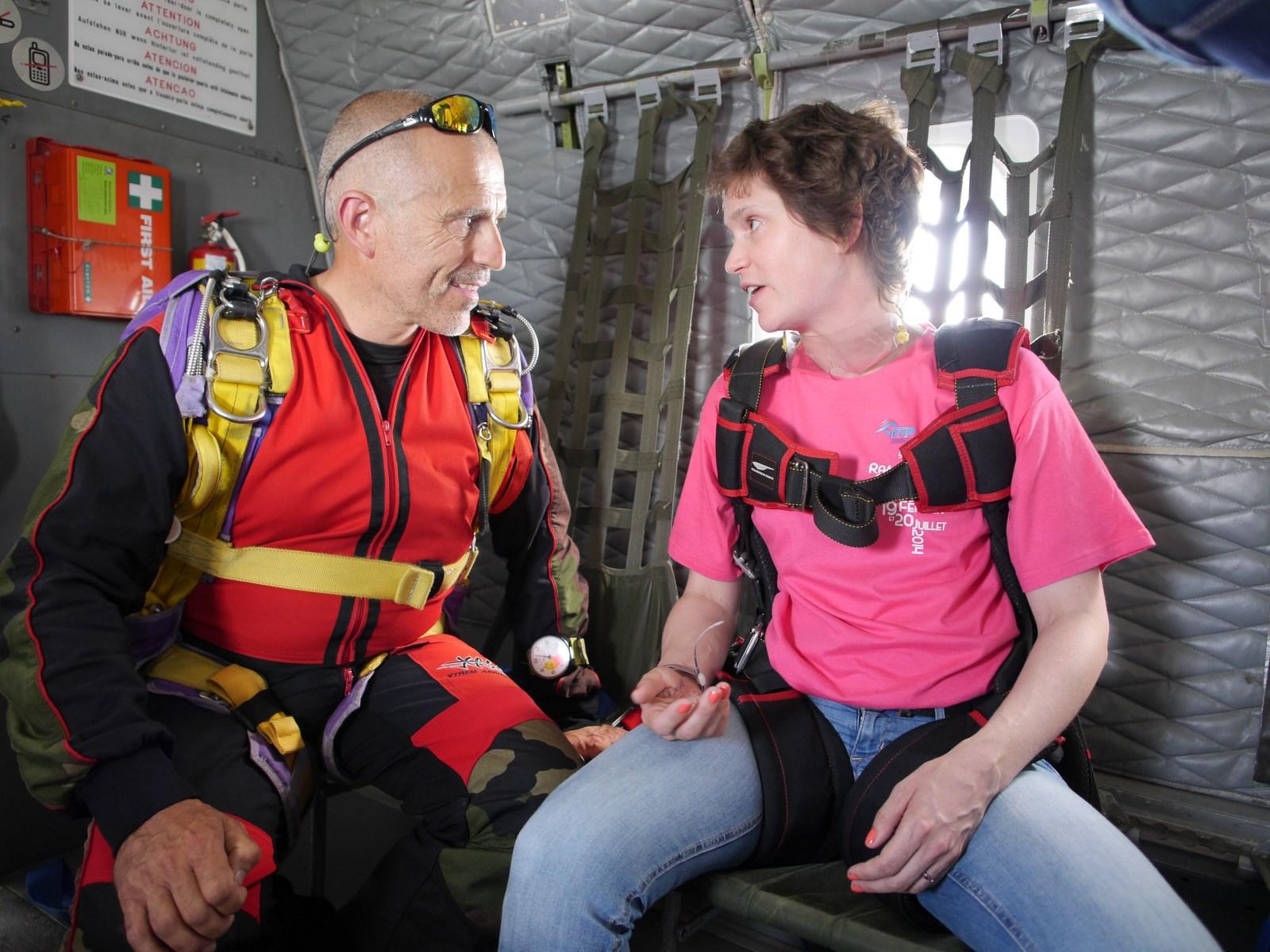 parachutisme feminin