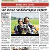 <b>La Montagne- 02-08-2014- Une section handisport pour les paras</b>