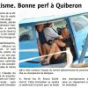 <b>Le télégramme-06-09-2014-Bonne perf à Quiberon</b>