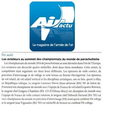 Air Actu-01-10-14-les aviateurs au sommet des championnats du monde de parachutisme