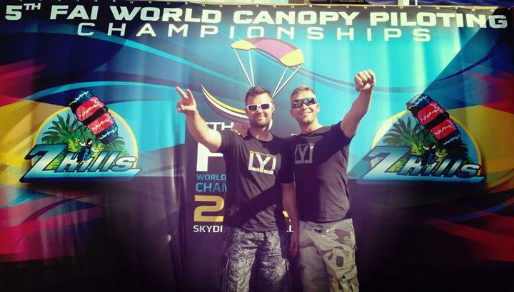 Championnats du monde de Canopy piloting 2