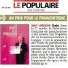 <b>Le Populaire du Centre-15-12-14-Un prix pour le parachutisme</b>