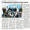 <b>La Marne-31-12-14-Le département soutient le haut niveau </b>