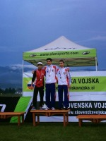 podium junior Bled
