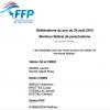 <b>Résultat délibérations jury moniteur fédéral de parachutisme du 24 août 2015</b>