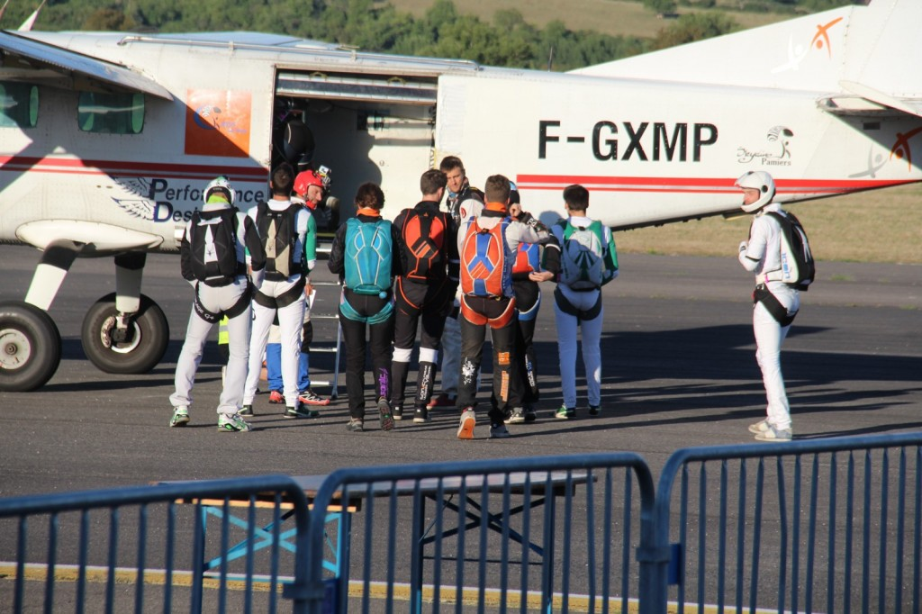 Embarquement FreeFly