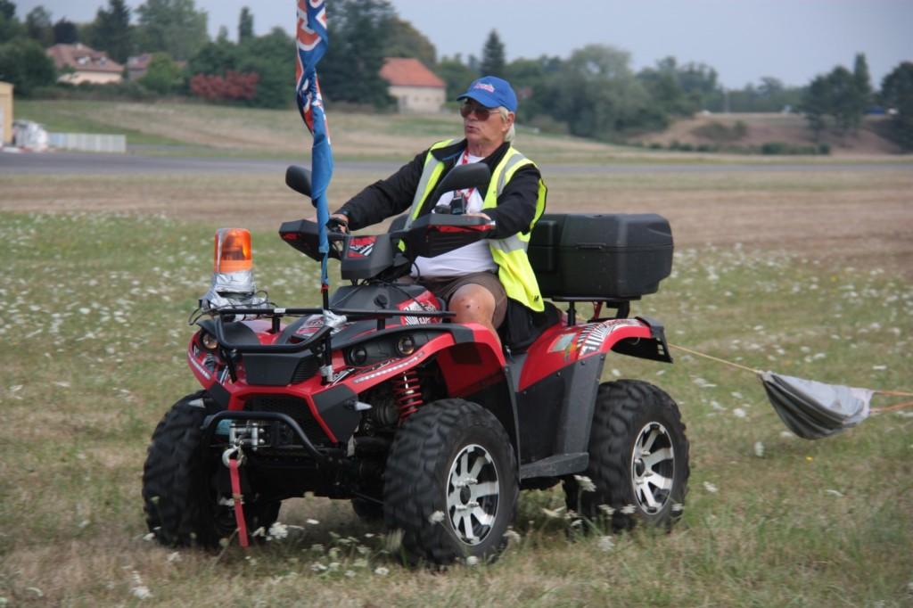 Un retour câble avec Gilbert au quad