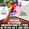 <b>Première semaine Olympique Universitaire à Lyon</b>