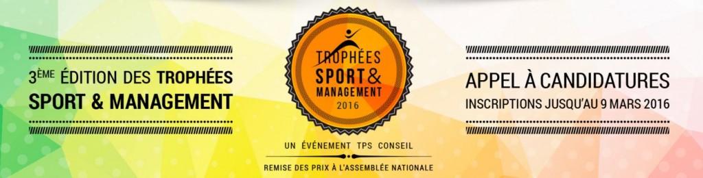 Trophées Sport & Management 2016