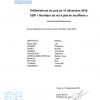 <b>Résultat délibérations jury C.Q.P. du 13 décembre 2016</b>