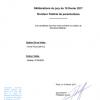 <b>Résultat délibérations jury moniteur fédéral de parachutisme du 16 février 2017</b>