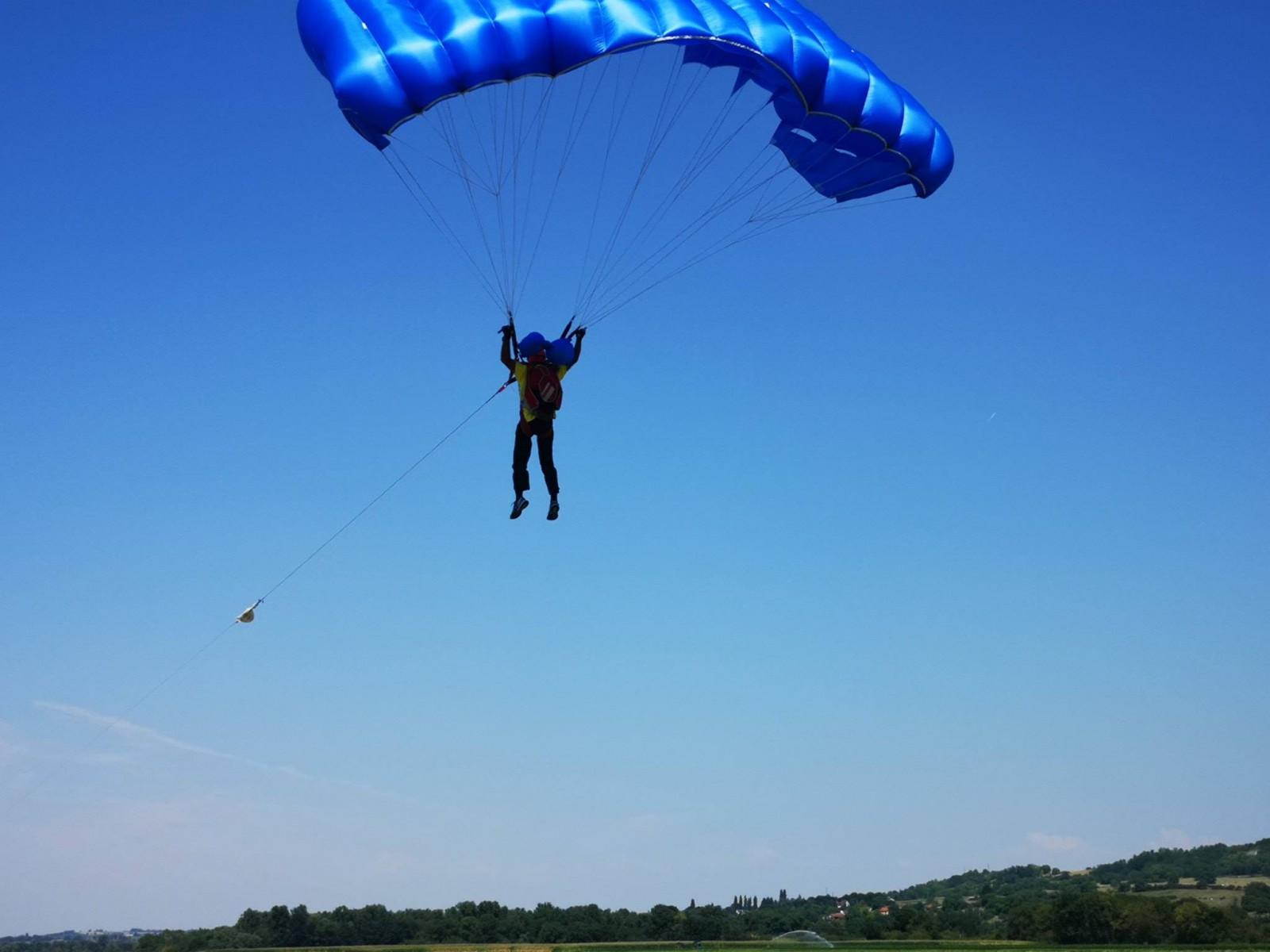 parachutisme vichy