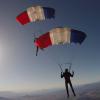 <b>336-9 : Les équipes de France de parachutisme s'entraînent dans le Doubs (25) pendant le mois de mai...</b>